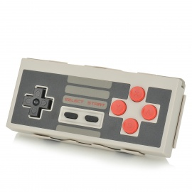 8BITDO NES30 Bluetooth Wireless GamePad Game Controller for IPHONE / IPAD - Grey + Black + Red