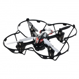 JJRC H6C-2 2.4GHz 4-CH 6-Axis Gyro R/C Quadcopter Aircraft Toy w/ 2.0MP Camera - Black + Red