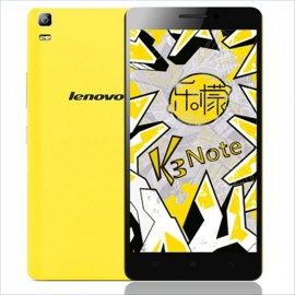 Lenovo K3 Note Android Octa-Core 4G Phone w/ 2GB RAM, 16GB ROM -Yellow