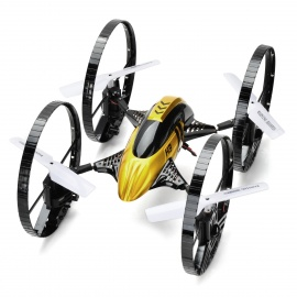 JJRC H3 Outdoor 2-Mode 4-Channel R/C Quadcopter w/ Gyro / Camera - Black + Gold