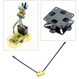 CC3D Flight Controller/Straight Pin +Anti-vibration Set + Antenna Pedestal for R/C Quadcopter
