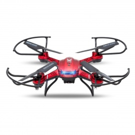 4-CH 6-AXIS GYRO RC Helicopter 2.4GHz Remote Control Drone - Red