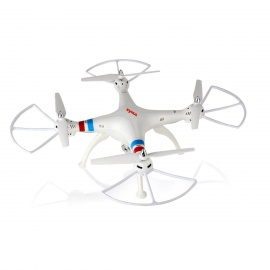 Syma X8C 2.4G 4-CH 6-Axis Venture with 2MP Wide Angle Camera R/C Quadcopter RTF Helicopter - White