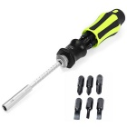 NO.8915 6-in-1 Multifunctional Replace Screwdriver Repair Tool