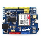 Waveshare SIM808 GSM / GPRS / GPS 3G Shield for Arduino - Blue