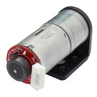 High Torque 25mm DC 6.0V 100rpm Encoder Precision Gear Motor w/ Mounting Flange