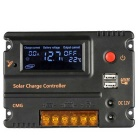LCD Panel Solar Charge Controller Battery Switch Overload Protector