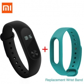 Xiaomi 0.42' OLED Touch Screen Mi Band 2 Smart Bracelet + Replace Band