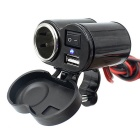 Motorcycle Cigarette Lighter Seat Waterproof USB Charger