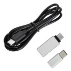 USB 3.1 Type-C Cable + 3.1 Type-C to Micro USB + 3.0 OTG Adapter