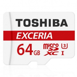 Toshiba THN-M302R0640C2 64GB MicroSD / TF Card with Adapter