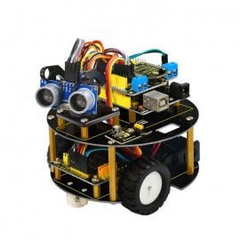 UNO R3 Bluetooth L298N Motor Drive Smart Small Turtle Robot Car Kit