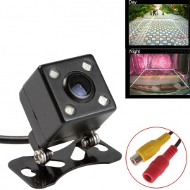 HD Small Square Shaped LED Night Vision Rearview Reversing Car Camera