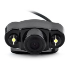 KELIMA-08 Gm Dual LED Rearview Camera w/ Eectronic Ruler Cable - Black