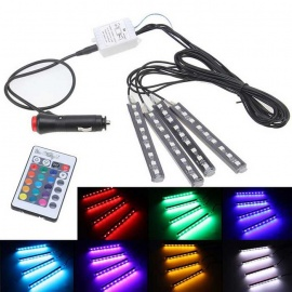 YouOKLight 4-in-1 Wireless Remote Control LED Car Decoration Light Bar