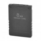 Memory Card 8Mb for PS2 - Black