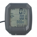"""1.5"""" LCD Electronic Bicycle Speedometer (1xCR2032)"""
