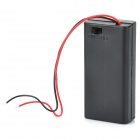 3V 2 x AA Battery Holder Case Box with Leads