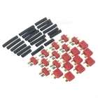 High Current Ultra Plugs T Connector (10+10-Pack) + Shrink Tubing (20-Pack) Set