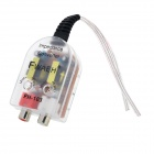 Car High to Low Impedance Converter Adapter