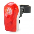 0.5W 2-Mode 1 + 2 LED Red Light Bike Bicycle Tail Lamp (2 x AAA)