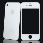 Replacement Touch Screen Digitizer LCD + Back Cover Module w/ Tools Kit for Iphone 4 - White