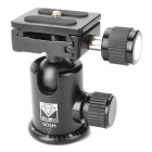 Genuine Ruby 005H Ball-Head with Quick Release Plate Adapter - Black (Loading-4KG)