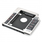 """Universal 2.5"""" SATA to SATA HDD Caddy for 12.7mm Optical Drive"""