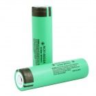 Genuine Panasonic 18650 3.7V 3100mAh Rechargeable Battery - Green (Pair)