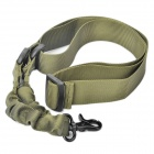 Tactical Military Single Point Rifle Gun Sling Strap - Army Green (135cm