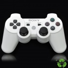 Genuine Refurbished DualShock Bluetooth Wireless SIXAXIS Controller for PS3 - White