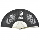 Kung Fu Performance Stainless Steel Folding Fan