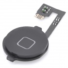 Replacement Home Button Flex Cable for Iphone 4 - Black