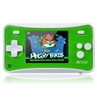 """2.4"""" LCD Portable Game Console w/ Speaker - Green + White (3 x AAA)"""