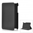 Protective PU Leather Case for Google Nexus 7 - Black