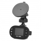 "Mini 1.5"" TFT 5.0MP Wide Angle Car DVR Camcorder w/ 12-LED IR Night Vision - Black"