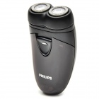 Philips HQ130 Dual Action Electric Dry Shaver for Travellers (2*AA Battery Powered)