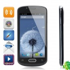 """CUBOT A8809 Android 4.1 Smartphone w/ 4.7"""" Capacitive Screen, Dual-SIM, Wi-Fi and GPS - Black"""