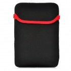 """Universal Protective Neoprene Inner Bag Pouch for Ipad MINI / 7"""" Tablet PC - Black + Red"""