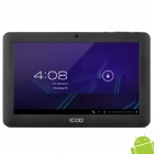 """ICOO D50 7"""" Android 4.0 Capacitive Screen Tablet PC w/ Wi-Fi / TF - Black"""