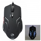 X7 Wired USB 2.0 1200/1600/2000dpi Optical Game Mouse - Black (145cm-Cable)