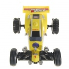 Remote Controlled R/C Rechargeable Racing Kart Car with Desktop Stand (27MHz)