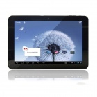 """FREELANDER PD90HD 10.1"""" Capacitive Screen Android 4.0 Quad Core Tablet PC w/ Wi-Fi / Camera - Silver"""