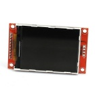"2.2"" Serial SPI TFT Color LCD Module for Arduino - Red + Silver"
