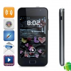 "VSUN i9 Dual-Core Android 4.1 WCDMA Bar Phone w/ 4.0"" Capacitive Screen, Wi-Fi and GPS - Black"