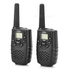 T667 462.MHz 22 Channels Walkie Talkie 2-Pack Set (5KM Range)