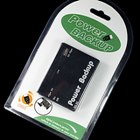 Rechargeable USB Emergency Power Backup Pack 2400mAh