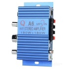 100W Hi-Fi Stereo Amplifier for Car/Motorcycle (Color Assorted)
