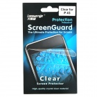 Crystal Clear Screen Protector with Cleaning Cloth for Iphone 4 - Transparent