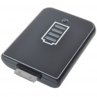 2400mAh Solar Powered Rechargeable External Battery Ipod/iTouch/Iphone 3gs/4 (Black)